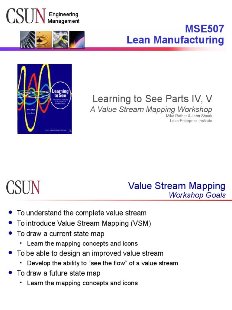 Vsm examples lean manufacturing supermarket buycottarizona Gallery