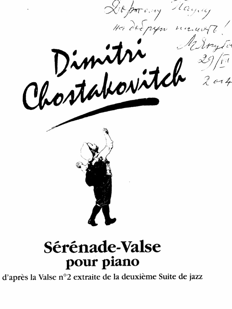 Shostakovich-Waltz No. 2 From Jazz Suite No. 2 (Campo)