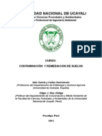 Contaminacion y Remediacion de Suelos ( Ing. Ambiental Unu)