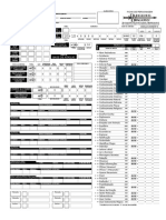 Ficha Druída 3.5 Excell Format