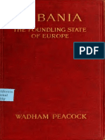 ALBANIA THE FOUNDLING STATE OF EUROPE WADHAM PEACOCK
