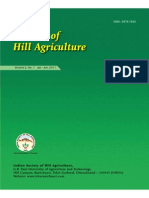 Journal of Hill Agriculture 2011 Vol 2(1)
