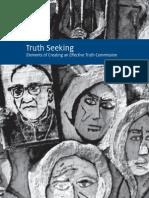 Truth Seeking 2013 English