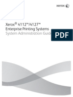 Xerox System Admin Guide 4112 Mono
