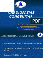 Cardiopatías congénitas Dr. Esteban