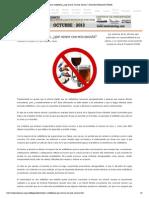 Alcohol y antibióticos, ¿qué ocurre con esta mezcla_ _ Descubre Fundación UNAM