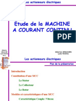 Machine a Courant Continu