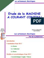Machine a Courant Continu