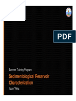 Sedimentological Reservoir Characterization