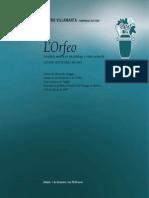Libreto Orfeo
