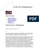 Intelligence in the War of Independence