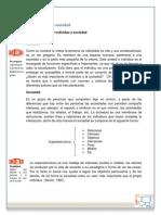 1.3 Individuo y Sociedad Conceptos Básicos Para El Estudio de Fenómenos Sociales