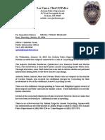 Press Release Carjacking
