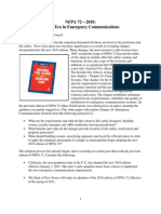 NFPA 72 Emergency Communications White Paper Final