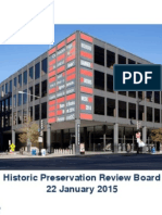 MLK Library Presentation to D.C. Historic Preservation Review Board