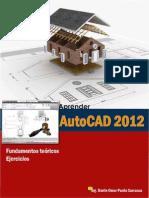 Aprende AutoCAD 2D Fundamentos Teoricos y Ejercicios
