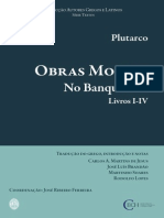 Plutarco No Banquete Obras Morais