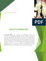 Normas Apa - Presentacion Ica