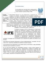1.4 Instituciones Sociales Familia, Estado y Nación