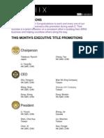 Weekly Title Promotion Week 02
