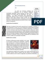 Características y Tipos de Instituciones