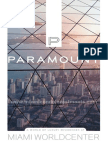 Paramount Miami Worldcenter Condos Brochure