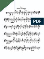 Bach guitar pieces