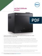 Dell 2150cn-Cdn Colour Laser Printers Datasheet en v3