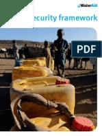 WATERAID Water Security Framework