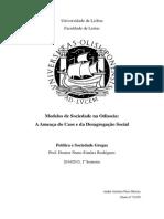 Modelos de Sociedade Na Odisseia de Homero - A Ameaça Do Caos e Da Desordem Social (FINAL)