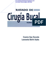 Cirugia - Tratado de Cirugia Bucal Cosme Gay Escoda - Leonardo Berini Aytés