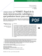 VOMIT Mala Interpretacion