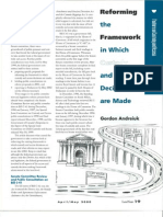 2. Reforming the Framework
