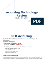 Acidizing Technology Review