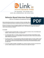 Link Behavior Interview Questions