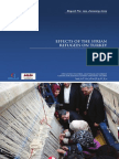 Effects of the Syrian Refugees on Turkey
