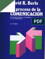 El Proceso de La Comunicacion David k Berlo 301 1 b 514