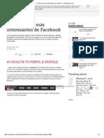 Los 10 Trucos Más Interesantes de Facebook - ComputerHoy