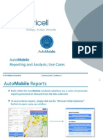 Metricell_AutoMobile_Reporting & Analysis Use Cases_September 2014