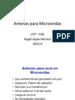 Antenas microondas