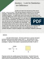 Amino Acids Tutorial