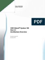 Vblock 100 Gen2 3 Architecture Overview