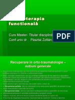 Kinetoterapia functională