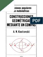 Ed MIR - Kostovski - Construcciones Geometricas Mediante Un Compas