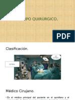 Equipo Quirúrgico