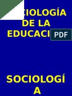 Sociologia de La Ed Power