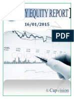 Daily Equity Report 16-01-2015