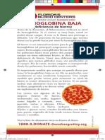 Hemoglobina Baja