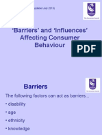 Barriers and Influences PowerPoint Presentation1