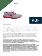 Nike Free Run 5.0 Rouge